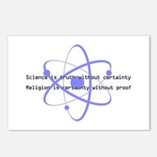 Science Is Truth Postcards (Package of 8)