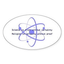 Science Is Truth Decal