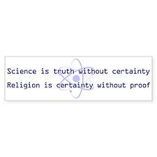 Science Is Truth Bumper Sticker