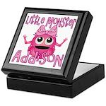 Little Monster Addison Keepsake Box