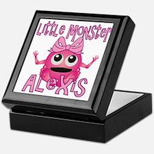 Little Monster Alexis Keepsake Box