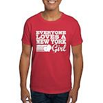 Everyone Loves a New York Girl Dark T-Shirt
