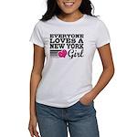 Everyone Loves a New York Girl Women's T-Shirt