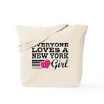 Everyone Loves a New York Girl Tote Bag