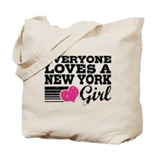 Everyone Loves a New York Girl Tote Bag