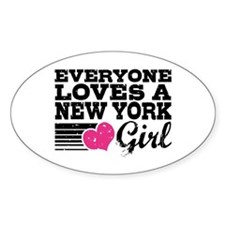 Everyone Loves a New York Girl Decal