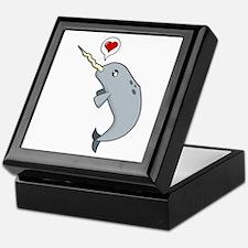 Narwhal Love Keepsake Box