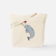 Narwhal Love Tote Bag