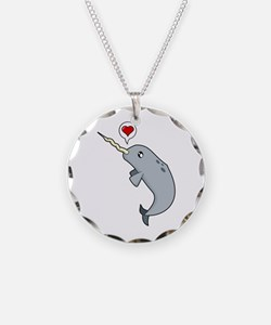 Narwhal Love Necklace