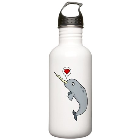 Narwhal Love Stainless Water Bottle 1.0L