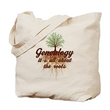 Genealogy Family Roots Tote Bag