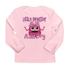 Little Monster Ashley Long Sleeve Infant T-Shirt