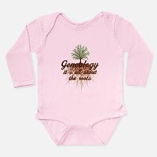 Unique Family roots Long Sleeve Infant Bodysuit