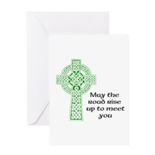 May the Road Greeting Card