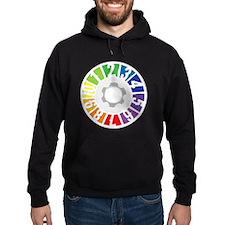 5-Ball Juggling (White Text) Sweatshirt