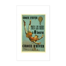 Cirque d'Hiver Decal
