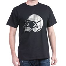 Vintage Football Helmet T-Shirt