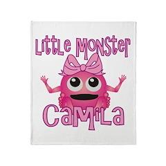 Little Monster Camila Throw Blanket