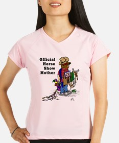 Horse Show Mom - Western Performance Dry T-Shirt