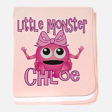 Little Monster Chloe baby blanket