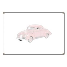 Ford Deluxe 1940 -colored Banner