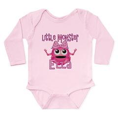 Little Monster Ella Long Sleeve Infant Bodysuit