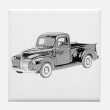 Ford Pickup 1940 -colored Tile Coaster