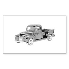 Ford Pickup 1940 -colored Decal