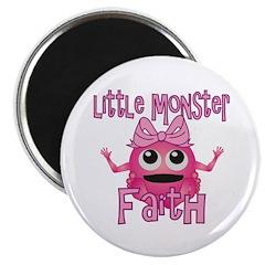 Little Monster Faith Magnet