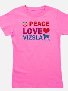 Peace Love Vizsla T-Shirt