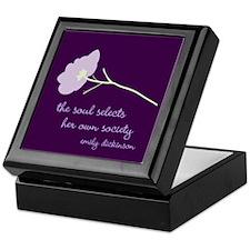 Soul Selects Plum Keepsake Box