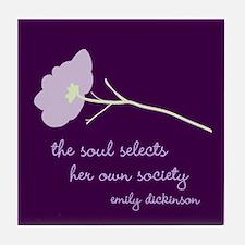 Soul Selects Plum Tile Coaster