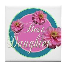 Best Daughter Tile Coaster