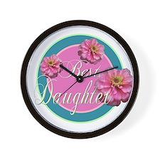 Best Daughter Wall Clock