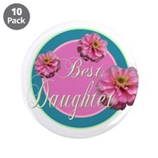 """Best Daughter 3.5"""" Button (10 pack)"""