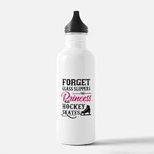 Forget Princess Hockey Water Bottle