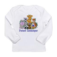Future Zookeeper Long Sleeve Infant T-Shirt