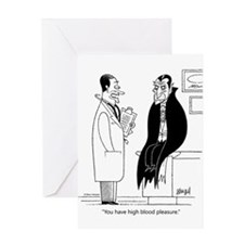 Doc and Drac Greeting Card