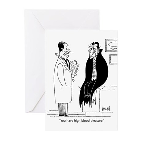 Doc and Drac Greeting Cards (Pk of 10)