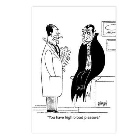 Doc and Drac Postcards (Package of 8)
