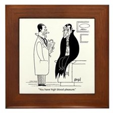 Doc and Drac Framed Tile