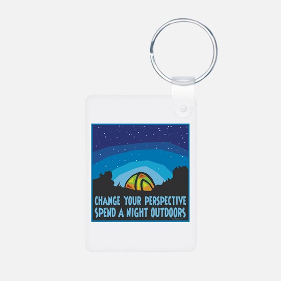 Tent Camping Keychains