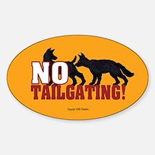 Anti-Tailgate Bumper Stickers