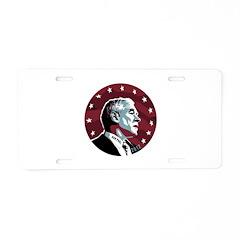 Ron Paul Circle Aluminum License Plate