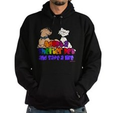 Adopt Shelter Pet (Rainbow) Hoodie