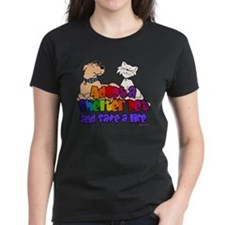 Adopt Shelter Pet (Rainbow) Tee