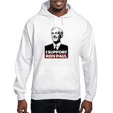 I Support Ron Paul 3 Hooded Sweatshirt