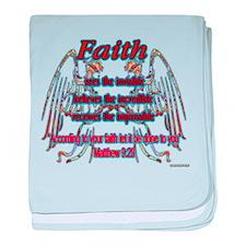 Faith Sees... baby blanket