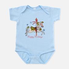 Christmas Carousel Infant Bodysuit