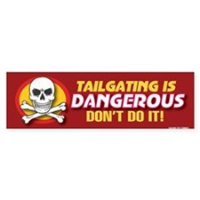 Cute Danger Bumper Sticker